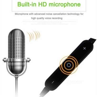 In-ear Bluetooth music sports earphones -Black image 5