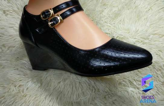 Strap wedge shoes image 2