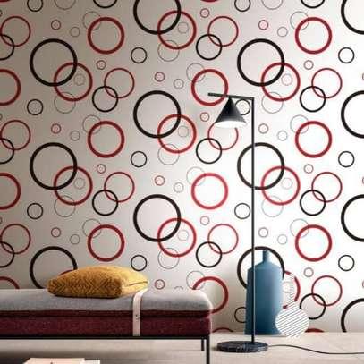 Bright surface self adhesive wallpaper image 12