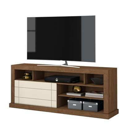TV Stand Rack Damasco ( Belaflex ) - Up to 65 Inch TV Space