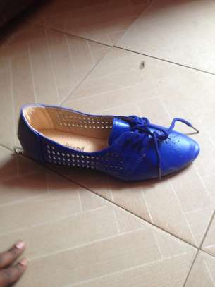 Blue Boyfriend Loafers
