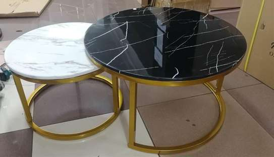 Marble deluxe coffee table image 1