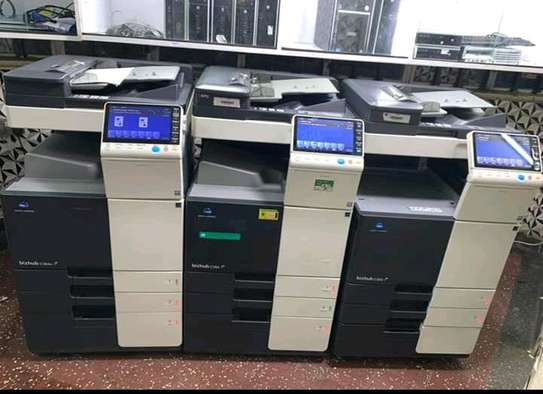 New model Konica minolta bizhub C364E colored photocopier machine image 1