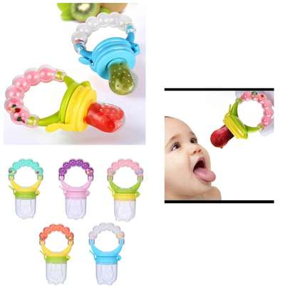 Baby fruit infuser pacifier image 1