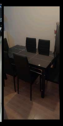 Dining table black