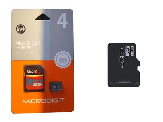 4Gb micro digit memory card