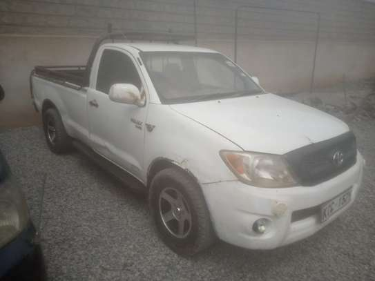 Toyota Hilux Pickup - Single Cab 2008 diesel image 4