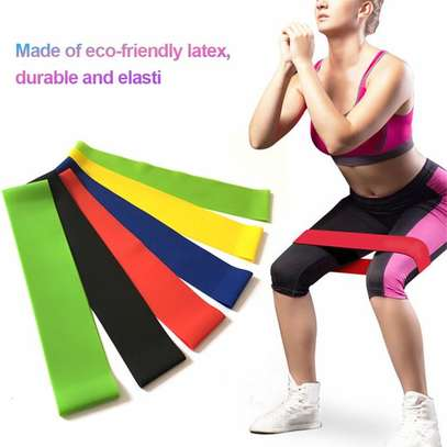 5 In 1  Yoga Stretch Out Strap Resistant image 2