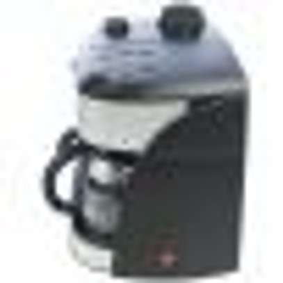 CAPPUCCINO MAKER BLACK + FREE DORMANS COFFEE 100G- RM/273 image 5