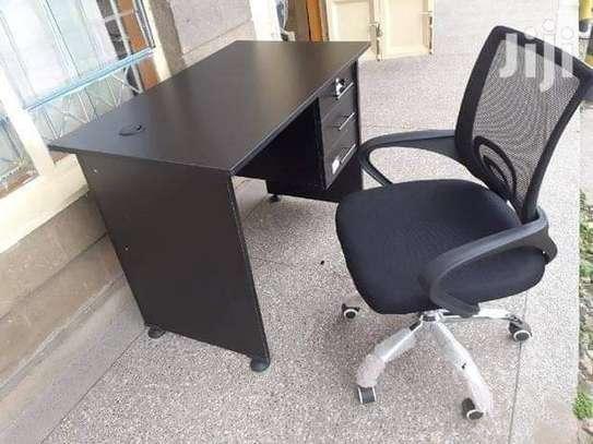 Secretarial chair ➕ desk image 3