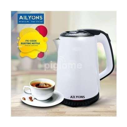 Lyons Cordless Electric Kettle 1.8 Litres White image 1