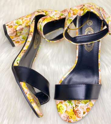 Floral Chunky heels image 1