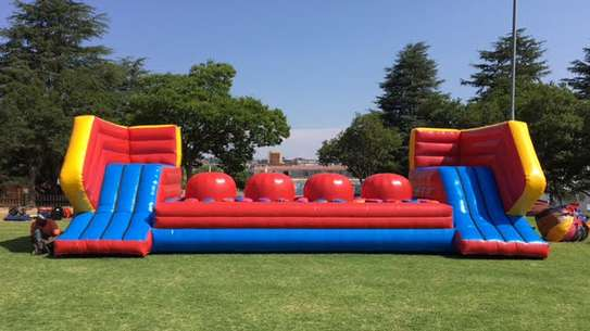 Ninja ball obstacle for hire