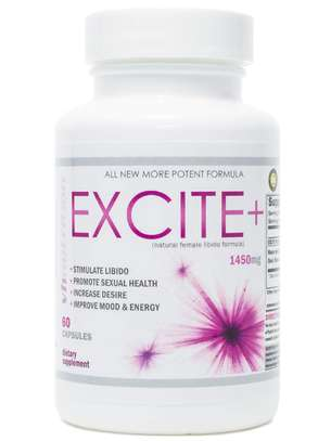 Excite plus, Women Boost your moods and sex drive, improve your relationship