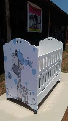 Baby Cot/Next to me image 3
