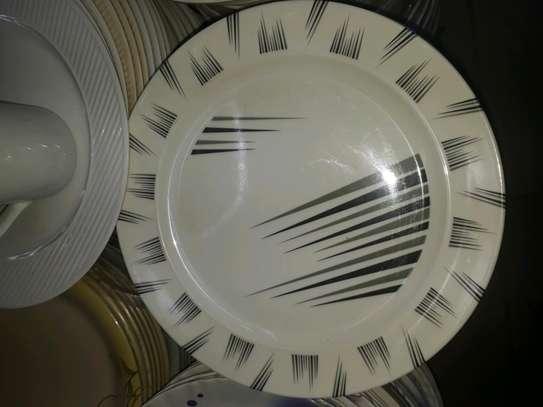 12pc Melamine dinner plates/Extra heavy melamine plate/12pc Plates image 5