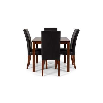 5 Piece Dining Set W90 – Light image 1