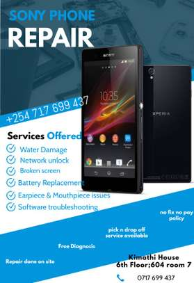 SONY PHONE REPAIR SERVICE image 1