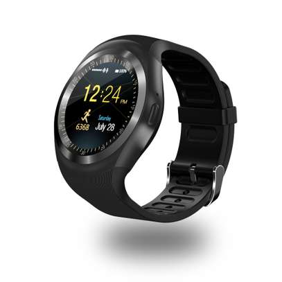 Q18 And Y1- Smart Watch Phone With Mpesa