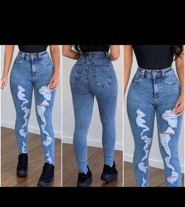 Women designer jeans image 1