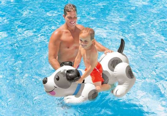Puppy Ride-on Swimming Floater image 1