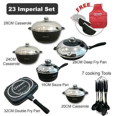 23 Pieces Cookware Set image 1