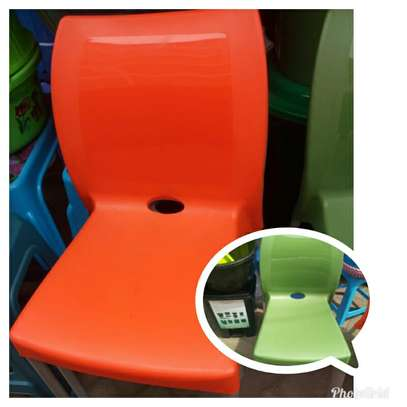 Stackable Plastic Chairs image 2