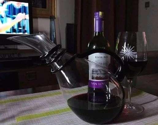 Wine decanter/glass wine decanter/2lts wine decanter image 3
