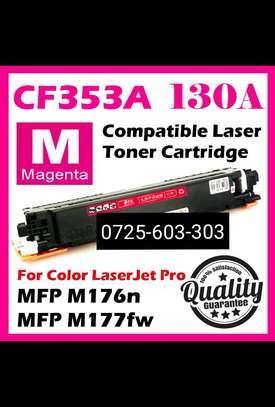 CF353Alaserjet  toner cartridge refills magenta image 1