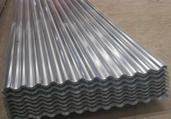 Corrugated (Unpainted) Roofing Sheet image 1