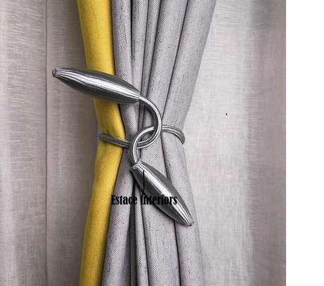 Magnetic  tie backs image 2