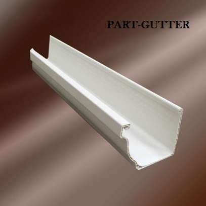 Pvc Rain Gutters and Piping System