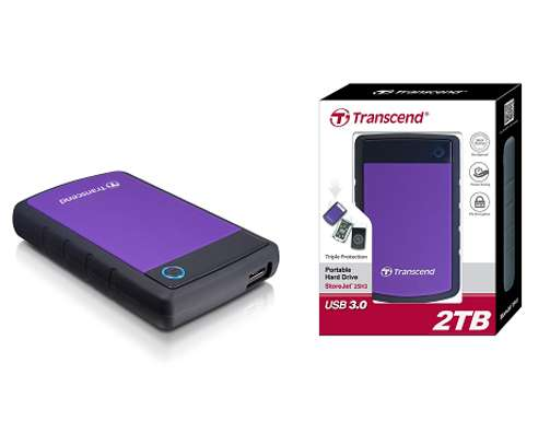 2TB Transcend Hard Drives image 1