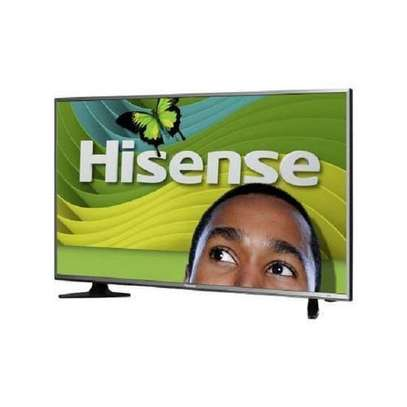 New Boxed-Hisense 50'' UHD 4K Frameless Android Smart TV - Black image 1