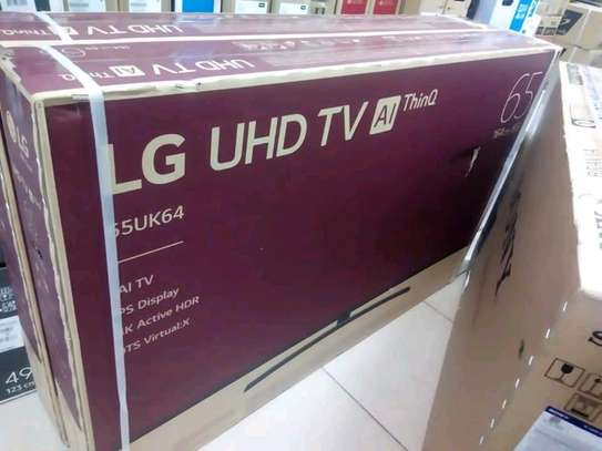 65 inch LG Smart UHD 4K Televisions image 1