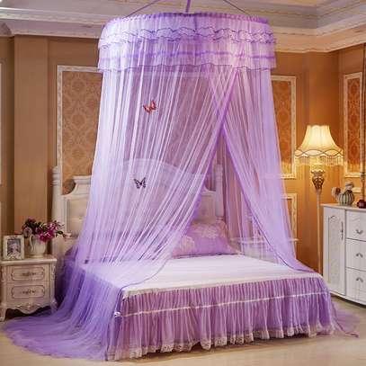 4*6 Round Mosquito Net - Purple image 1