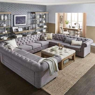 Modern Sofas/U shaped sofas/ten seater sofas made on order in Nairobi Kenya image 1