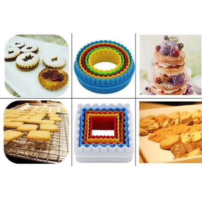 Plastic Dough Cookie Cutter, Assorted - 1 Set image 3
