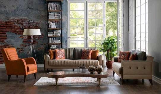 Trending sofa set designs/Modern sofa kenya/Best three seater sofa ideas/Sofa kenya image 1