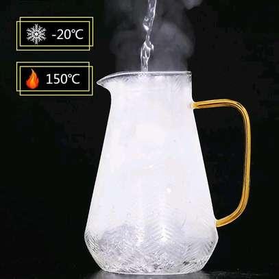High borosilicate glass jug set image 3
