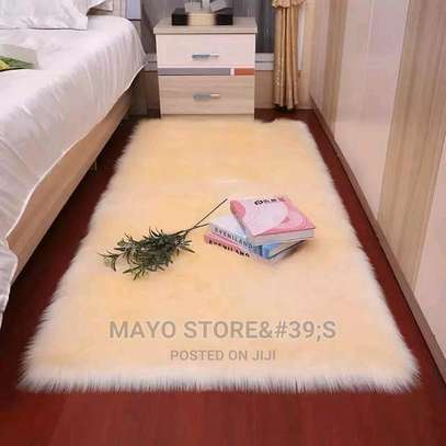 Faux Fur Bedside Mats image 5