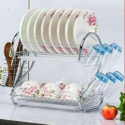Generic Stainless steel Dish Rack image 1