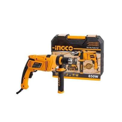 Ingco Impact Drill Set 850WATTS 101 Pcs image 2