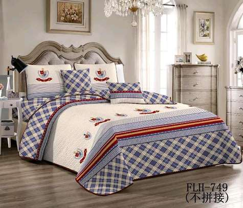 6 by 6 Cotton Bedcovers...4 pieces image 3