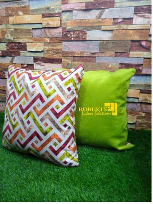 mix and match with green Throw pillows image 1
