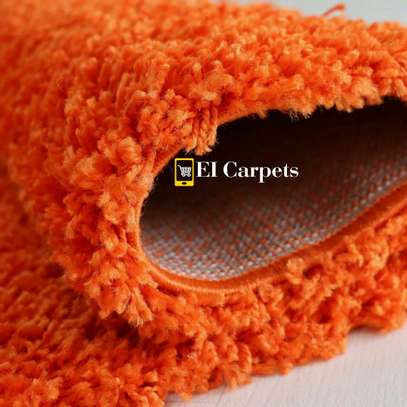 Orange quality carpets image 2