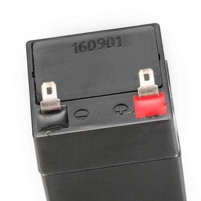 4v 4ah lead acid rechargeable battery image 2