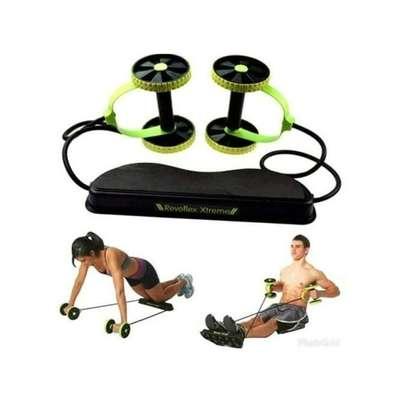 Revoflex Revoflex Extreme Exercise Roller -Green &Black image 1