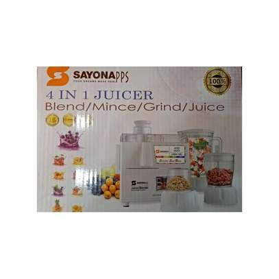 Sayona 4in1 Juicer/Blender/Mincer/Grinder image 2