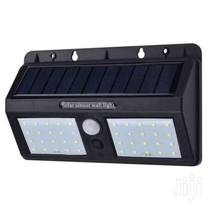 Solar Motion Sensor 40 LED Outdoor Wall Light